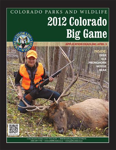 2012 Colorado Big Game Brochure